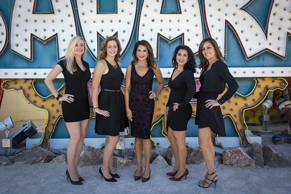Plastic surgeon Dr. Hayley Brown and her staff in Las Vegas
