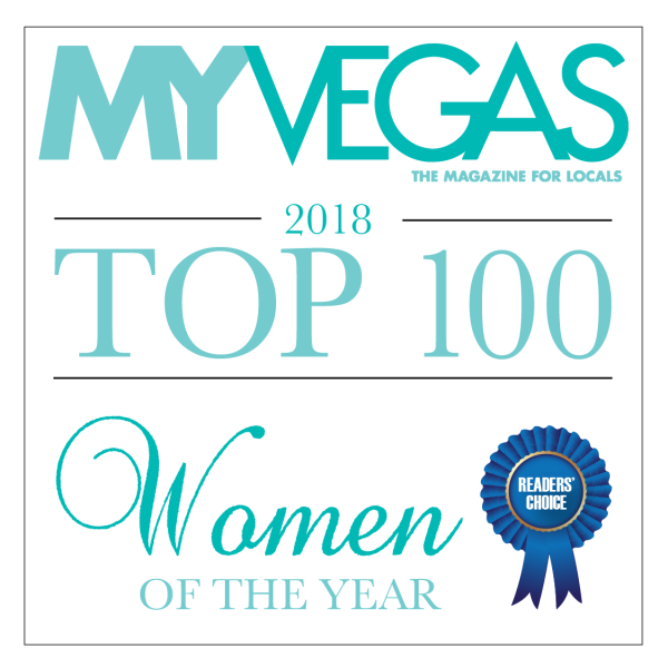 MyVegas top 100 women Dr. Hayley Brown