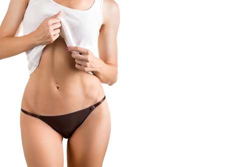Tighter tummy contour after tummy tuck in Las Vegas